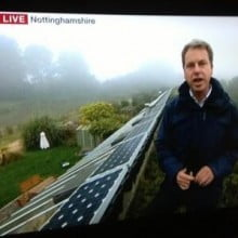 BBC Breakfast.... live from our roof