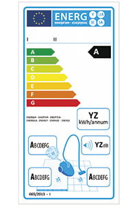 energy-label-from-a-vacuum-cleaner-377773