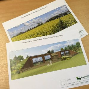 Planning permission granted for 9 new eco homes